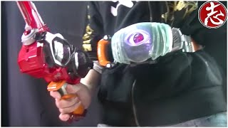 getlinkyoutube.com-【仮面ライダーゴースト】12月26日発売おもちゃDXサングラスラッシャーDX闘魂ブーストゴーストアイコン音声確認/遊んでみた