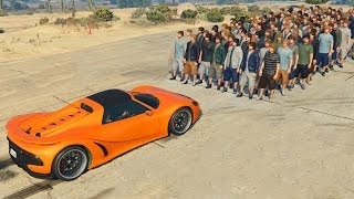 getlinkyoutube.com-CAN 100+ PEOPLE STOP A CAR IN GTA 5?