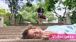 getlinkyoutube.com-Violetta 3 English: Priscilla pushed Vilu down the stairs Ep.66