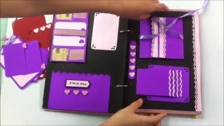 getlinkyoutube.com-SCRAPBOOK- DIY- HANDMADE (BY HANLA)