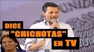 getlinkyoutube.com-Peña Nieto se equivoca y dice CHICHOTA en vez de Chilchota MIchoacan   2014