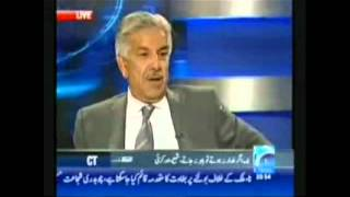 getlinkyoutube.com-Khawaja Asif Live Insult and His real Face