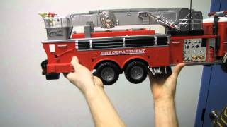 getlinkyoutube.com-Arctic Hobby Land Rider 503 RC Firetruck Unboxing & First Look Linus Tech Tips