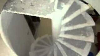 Download video escalera de caracol volada para tuescalera com for Como hacer escaleras de caracol de concreto