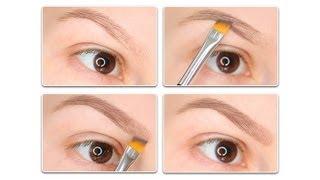 getlinkyoutube.com-Как нарисовать брови обычными тенями?/How to fill in your eyebrows with eyeshadow?