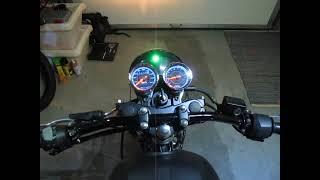 getlinkyoutube.com-Yamaha YBR 125 Cafe racer