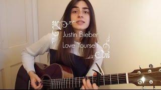 getlinkyoutube.com-Justin Bieber - Love Yourself. Simple Guitar Tutorial.