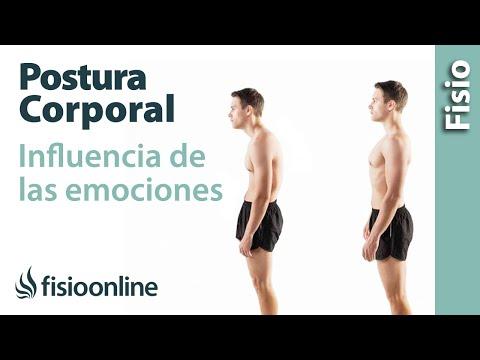 Postura corporal y  malas posturas - Visión psico-emocional.