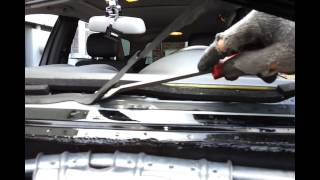 getlinkyoutube.com-How A Windshield is Removed and Installed  ( One way anyways )