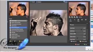 شرح فلاتر الاضاءة و التركيز على الصورة Topaz Detail + Topaz InFocus