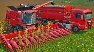 getlinkyoutube.com-Farming Simulator 15 - Colheita de Milho