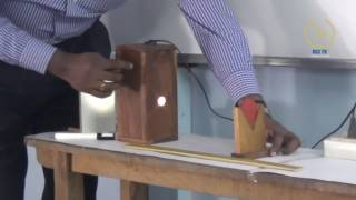 Concave Mirror (Class XII Physics Lab)