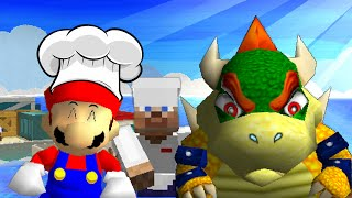 getlinkyoutube.com-SM64: Cooking with mario and bowser 3!
