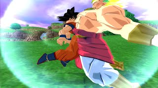 getlinkyoutube.com-Goku And Broly Legendary Super Saiyan Fusion! Budokai Tenkaichi 3!