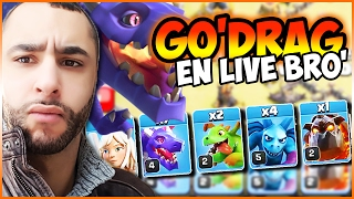 getlinkyoutube.com-JE TRY HARD LE GO DRAG !  🙌💥 | CLASH OF CLANS ATTAQUE HDV 9 GDC