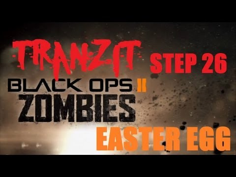 Tranzit Easter Egg/Breakdown Step 26: Ranks and Zombie Vision? [Black Ops 2 Zombies]