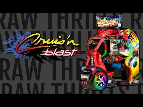 Cruis'n Blast (ARC)   © Raw Thrills 2017    1/1