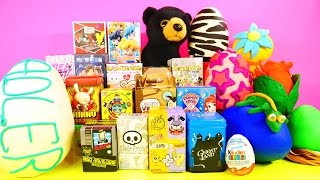 getlinkyoutube.com-Play Doh Eggs Surprise Toys Vinylmations MLP Ghost Land Sailor Moon BFFS DCTC Disney Cars Toy Club