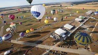 Lorraine Mondial Air Ballons : le record du monde vu du ciel