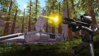 getlinkyoutube.com-Star Wars Battlefront 2 Mods: Endor Death Watch Bunker 3.0 Campaign
