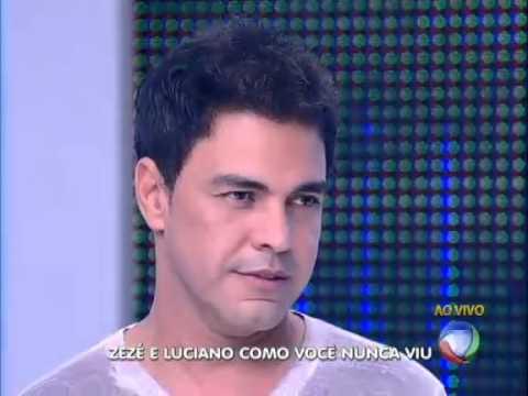 Zezé Di Camargo e Luciano no programa do Gugu  09/12/2012