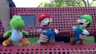 getlinkyoutube.com-Mario, Luigi & Yoshi go to the Park!