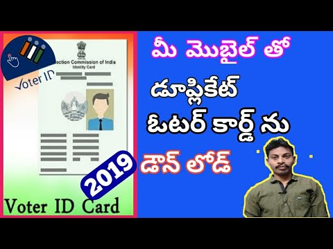 voter card download