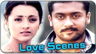 getlinkyoutube.com-Aaru Movie || Surya & Trisha Best Love Scenes || Surya, Trisha