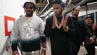 getlinkyoutube.com-Chris Brown & Trey Songz bring Tee Grizzley out to perform in Detroit.