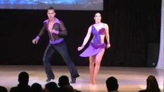 getlinkyoutube.com-Grizzly Hidriago & Alien Ramirez - World Latin Dance Cup 2012 Salsa Cabaret Couple SemiFinals