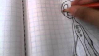 getlinkyoutube.com-Tutoriales como dibujar a puppet de fnaf 2