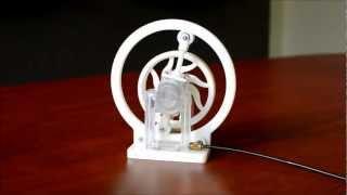 getlinkyoutube.com-3D Printed Comber Rotary Engine