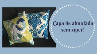 getlinkyoutube.com-Como fazer capa para almofada sem zíper - Cristina Versluis