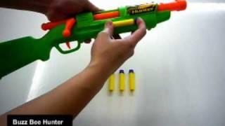 Buzz Bee Hunter - Demo/Test Fire & Internals