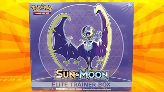 getlinkyoutube.com-Pokemon Cards - LUNALA POKEMON SUN & MOON ELITE TRAINER BOX OPENING BATTLE VS STEALTHLESS!!
