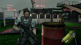 getlinkyoutube.com-Resident Evil 6 mod B&W Chris Asia