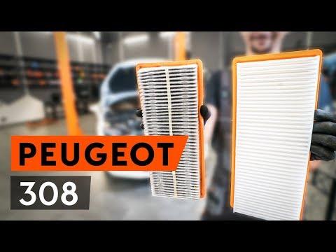 Как заменить воздушный фильтр на PEUGEOT 308 1 T7 (4A, 4C) (ВИДЕОУРОК AUTODOC)