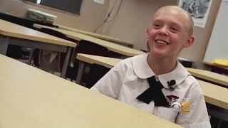 11-Year-Old Girl Elated Over Surprise Adoption News