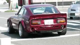 getlinkyoutube.com-第6回 門司港レトロカーミーティング2011 外野編① S30Z ハコスカ 旧車