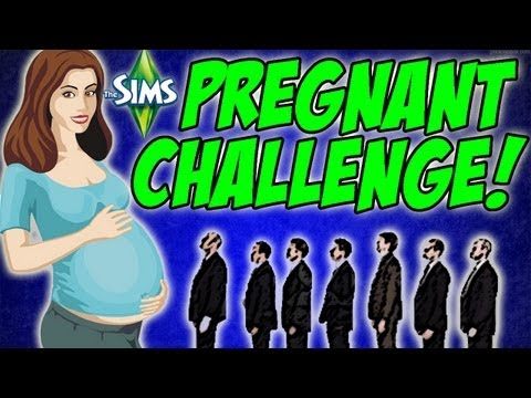 The Sims 3 - 20+ Bonehilde Experiment - The Pregnant Challenge #37