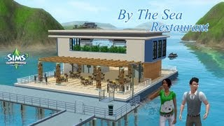 getlinkyoutube.com-The Sims 3 | Speed Build | Boat Restaurant: By The Sea