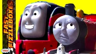 getlinkyoutube.com-Thomas & Friends: Races and Rescues | The Fast and the Fizzleboxes Ep. #2 | Thomas & Friends