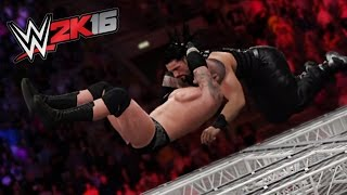 getlinkyoutube.com-WWE 2K16 TOP 10 EXREME FINISHERS THROUGH HELL IN THE CELL!