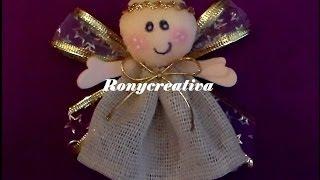 getlinkyoutube.com-ANGELITOS PARA BAUTIZO O PRIMERA COMUNION / Ronycreativa