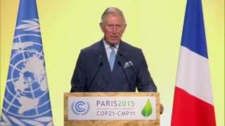 getlinkyoutube.com-The Prince of Wales delivers a keynote speech at COP21 in Paris