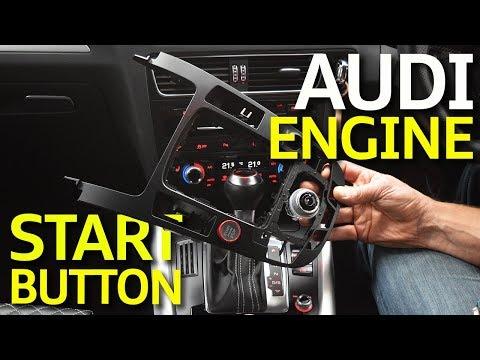 Audi Engine Start Stop Button Upgrade - A4, A5 & Q5