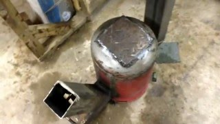 getlinkyoutube.com-How to build Gas bottle Rocket Stove