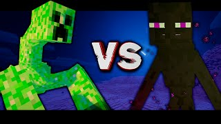 "MUTANT CREEPER VS MUTNANT ENDERMAN! Битва мобов в Minecraft! #19 ""Mob Battle"""