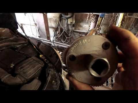 Замена масла и фильтра Skoda Octavia A5 fl 1.6 MPi