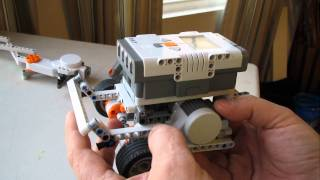getlinkyoutube.com-Mindstorm NXT 2.0 Robot Building Guide: Wheel Track Compact Rover